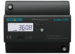 AccuEnergy AcuRev 1310 Series DIN Rail Multifunction Power and Energy Meters