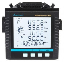 Accuenergy Acuvim IIBN-D-5A-P2 BACnet Power Meter, LCD Display, 5A, 20-60Vdc