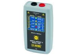 AEMC L261 Simple Logger II True RMS Datalogger, 1-Channel, 600V AC/DC