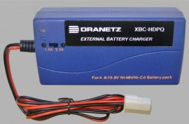 Dranetz XBC-HDPQ-US External Battery Charger with US Power Cord for HDPQ Series