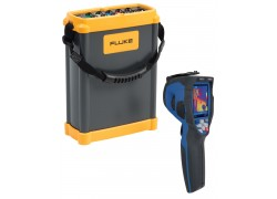 Fluke 1750 Three Phase Power Quality Analyzer Value Added Kit with 80x80 Thermal Imager
