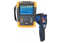 Fluke 435-II Three Phase Power Quality Analyzer Value Added Kit with 80x80 Thermal Imager