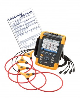 Fluke 435-II-NIST Power Quality Analyzer with NIST Traceable Certificate
