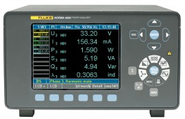 Fluke N4K 3PP50IP Norma 4000 3-Phase Power Analyzer with 3 x PP50 Modules, IEEE488/LAN, & Process Interface