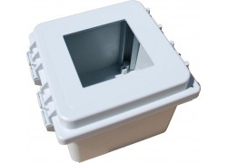 Hoffman 851FG Wall Mountable Enclosure with 1 x 1/4 DIN