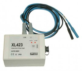 HT Instruments XL423 Single-Phase Voltage Data Logger
