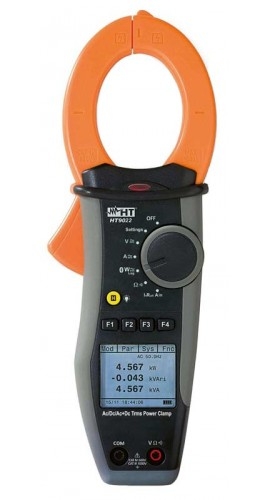 HT Instruments HT9022 Power Quality Logger Clamp Meter with Bluetooth