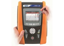 HT Instruments VEGA78 CAT IV Power Quality Analyzer and Energy Logger with 4 CTs, HTFLEX33D