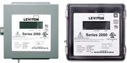 Leviton 2000 Series Three Phase Meters and Kits