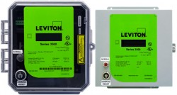 Leviton 3500 Series kWh Electrical Meters and Kits with Ethernet Communication