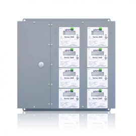 Leviton 2L408-CFG Large Series 2000 MMU Multiple Meter Units, 277/480V, 8 Three Element Meters