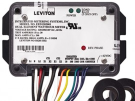 Leviton 5B201-H01 Epoxy Encapsulated Mini-Meter Sub-Metering Kit