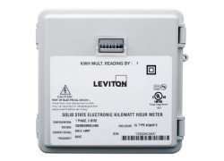 Leviton Mini-Meter Kit in NEMA 4X-rated Outdoor Enclosure