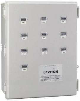 Leviton Mini-Meter Series Multi-Unit Sub-Metering Bank