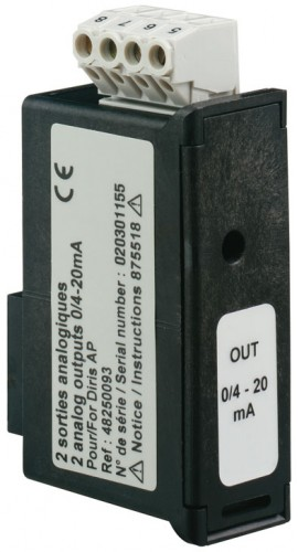 Socomec Analog Output Module for DIRIS A40