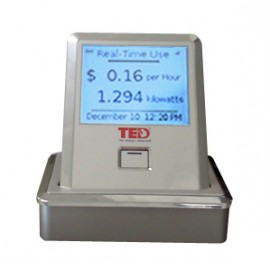 Additional Wireless Display for TED 5000. Includes charging stand.
