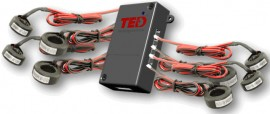 TED Spyder MIX Circuit Monitoring Tool, 60A and 20A Solid Core CTs