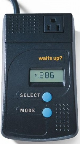 Watts Up Portable Plug-In Power Meter
