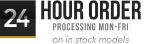 We process orders 24 hours a day Monday to Friday. Includes in-stock product only.