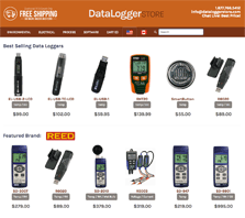 DataloggerStore.com - Carrying a wide range of dataloggers