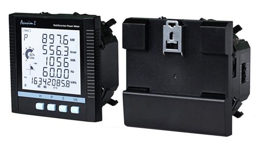 Multifunction Meter 96x96 : Acuvim iie series of multi functional power time use