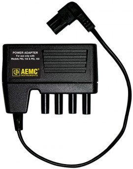 AEMC 2137.77 Power Adapter for PEL 102 & 103, CAT III, Pollution 2-