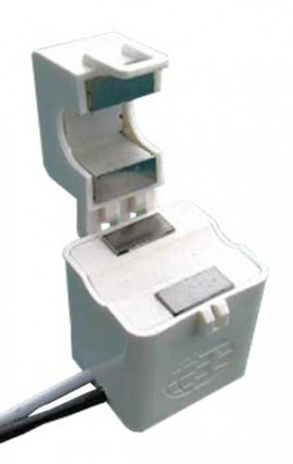 Dent CT-HSC-050-B Mini Hinged Current Transformer with Banana Plugs, 50A-