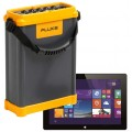 Fluke 1750/ET Three-Phase Power Quality Recorder with Windows 10 tablet-