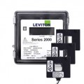 Leviton 2O480-2W VerifEye Series 2000 3P/4W Outdoor Meter Kit with 3 Split-Core Current Transformers, 277/480 V, 200 A-