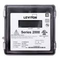 Leviton 2R480-21 VerifEye Series 2000 3PH/4W Outdoor 3-Element Meter, 277/480 V, 200 A-