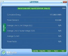Leviton LBSSW-05L PC-Based BillSuite Software License, Tier 5, 301-400 Meters-