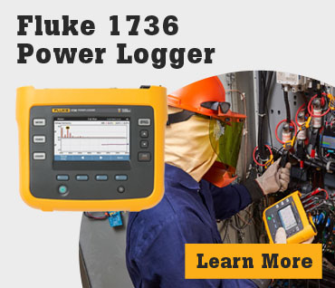Fluke 1736/B 3-Phase Power Logger